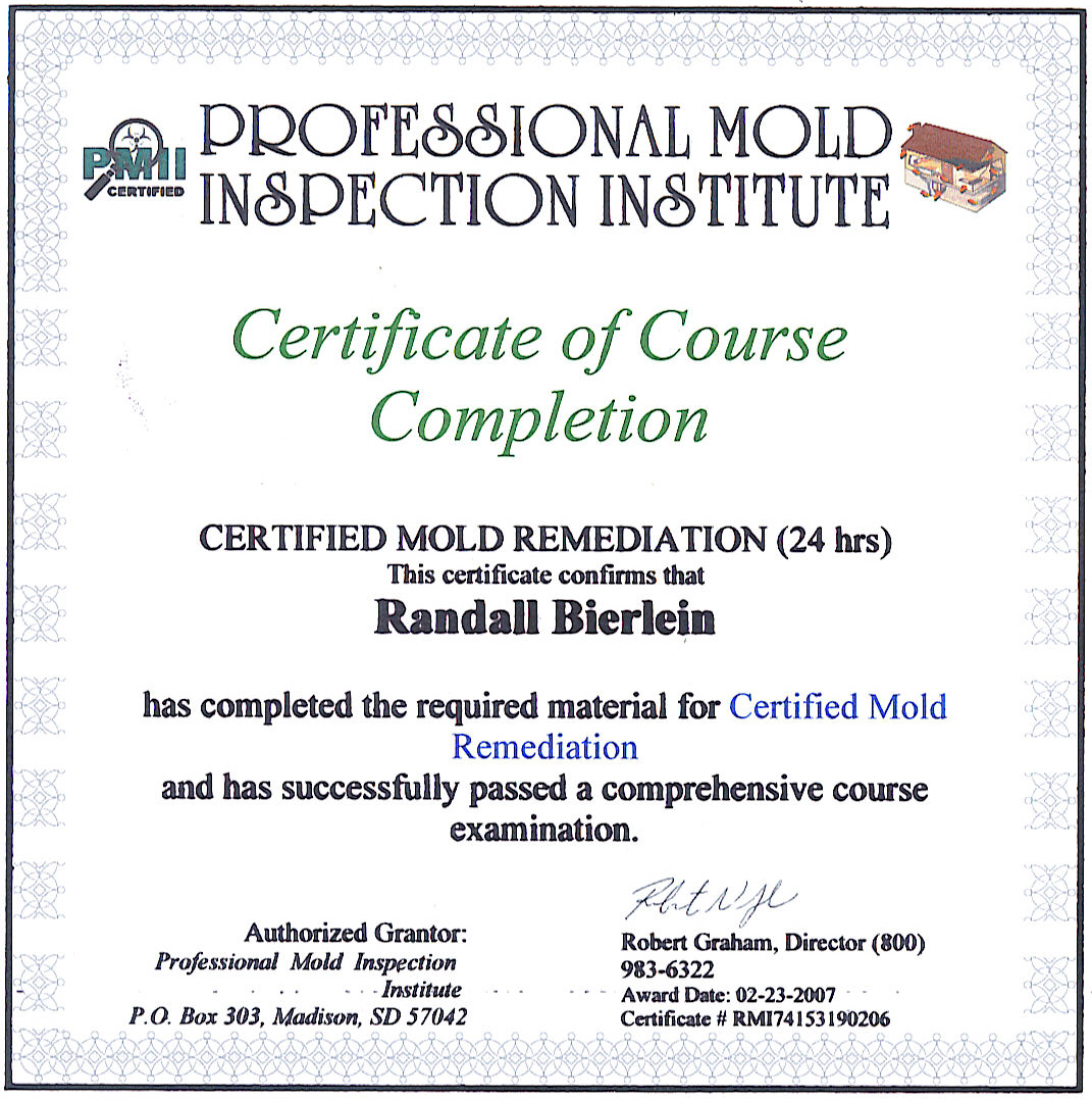 Certifications Enviro Decon Services Llc